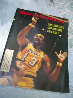 Sports Illustrated Magazine May 15, 1972 - Features Wilt Chamberlain Lakers - pinned by pin4etsy.com