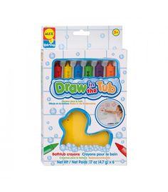 Ceras para pintar en el baño para Pablo y para Aitor montessori para todos ocho con 10 €