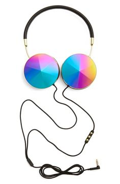 Stylish Headphones - Back to School - Accessories School Accessories, Workout Accessories, Iphone Accessories, Teen Vogue, Rihanna, Headphone Wrap, Girl Dj, Lucky Symbols, Best Headphones