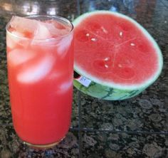 Watermelon Agua Fresca- Very delicious and refreshing for summer!