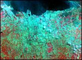Urban Growth in Jakarta, Indonesia : Image of the Day : NASA Earth Observatory