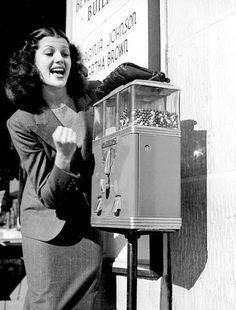 Rita Hayworth, ca. early 1940's.