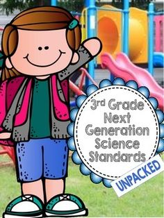 3rd Grade NGSS Next Generation Science Standards UNPACKED to help you make sense of the new science standards.  Makes my life a lot easier for only $2!