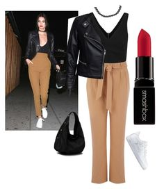 """""""Untitled #21"""" by hm1491460 on Polyvore featuring Oasis, Sisters Point, NIKE, Boohoo, Smashbox, women's clothing, women, female, woman and misses"""