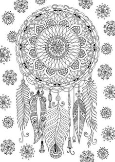 Mandalas Coloring Pages for Adults. 30 Mandalas Coloring Pages for Adults. 31 Most Brilliant Cool Coloring Pages Plants Sunflower Page Dream Catcher Coloring Pages, Mandala Coloring Pages, Animal Coloring Pages, Free Coloring Pages, Coloring Books, Fairy Coloring, Coloring Pages To Print, Coloring Pages For Grown Ups, Printable Adult Coloring Pages