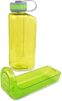 The OllyDog OllyBottle comes with a bowl that lets you and your dog share water without sharing slobber.