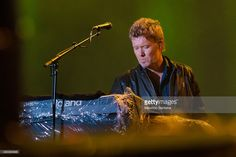 Magne Furuholmen from A-HA performs at 2015 Rock in Rio on September 27, 2015 in Rio de Janeiro, Brazil.