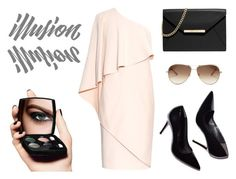 """""""Illusion"""" by danielagaiorodrigues ❤ liked on Polyvore featuring Givenchy, MICHAEL Michael Kors, Chloé and Chanel"""