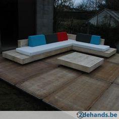 Design loungeset 'cuba' in accoya