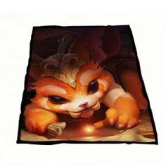 League of Legend Gnar Cover Fleece Blanket Kids Blanket | Art Betinas  https://www.artbetinas.com/collections/fleece-blankets/products/ind_league_of_legend_gnar_cover_fleece_blanket