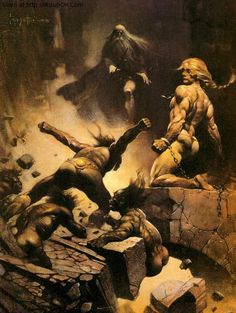 frank frazetta | ... Frank Frazetta - Picture 3192 in Arts / Fantasy Paintings / Frank