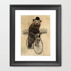 Barnabus Framed Art Print by Eric Fan - $35.00
