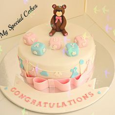 .@myspecialcakes | Baby Shower Cake | Webstagram