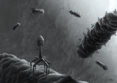 Resultado de imagen de bacterias Sci Fi, Studying, Science, Science Fiction