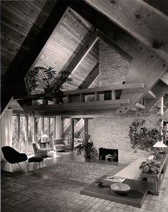 The Josephine Ashmun Residence by Alden B. Dow