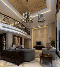 Art Deco Interior, Chinese influence.