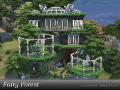 Find the hidden place of the forest where the fairies live ~  Found in TSR Category 'Sims 4 Residential Lots'