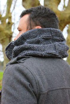 ThéaCroQuer: tricot snood pour homme