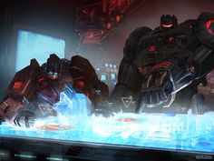 """goingloco: """" duckbats: """" magicrobotgeography: """" razorsaw: """" plastic-knives-and-forks: """" calibrashuns: """" qweety: """" jeffgodlike: """" Fall of Cybertron Grimlock and Optimus Prime """" >grimlock discussing. Transformers Characters, Transformers Optimus Prime, Grimlock Transformers, Michael Bay, Classic Cartoons, Cartoon Shows, Anime Comics, Prussia Hetalia, Skottie Young"""