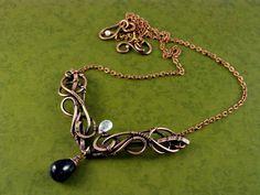 Wire copper necklasewww.etsy.com/listing/170882934…In my etsy shopwww.etsy.com/shop/UrsulaJewelr…