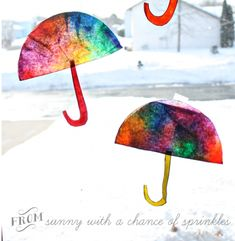Coffee Filter Sun catcher #Kidscraft by Sunny With a Chance of Sprinkles