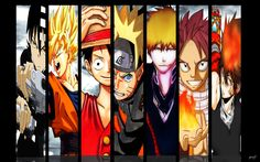 The Best Animes Heroes