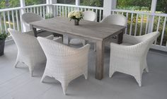 Kingsley Bate Valhalla Rectangular Dining Table Browse By Collection Outdoor Furniture