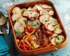 Receita de Sardinha em lata com batata ao forno