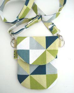The HIP Mini Purse - iPhone Case HIP Mini - Mobile Phone Case - Spring Cross-Body Purse - Choose Your Fabric