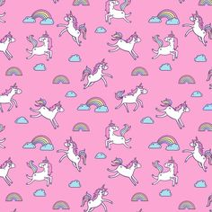 Seamless vector pattern with unicorns and rainbows on a violet background, which you can bring to your manufacturer and print on any surface. Mermaid Wallpaper Iphone, Pink Unicorn Wallpaper, Unicorn Backgrounds, Unicornios Wallpaper, Wallpaper For Sale, Mermaid Wallpapers, Cute Backgrounds, Cellphone Wallpaper, Cartoon Wallpaper