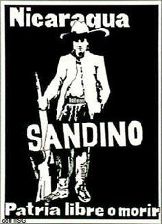 Sandinista poster, 70s