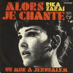"""Rika Zarai - """"Alors je chante"""", french cover version of """"Vivo cantando"""", the spanish entry for the Eurovision Song Contest 1969 and one of the four winning songs"""