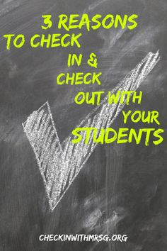 Check in check out pbis systems in your classroom can be absolute game changers. In my classroom students cling to their check in check out behavior charts with pride. Three reasons you need a check in check out system in your classroom!