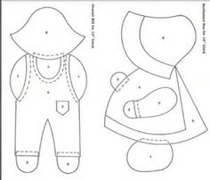 Free Sunbonnet Sue Patterns Downloads - Bing Images