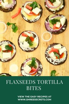 These flaxseeds tortilla bites are the perfect quick and easy snack ! with the goodness of cottage cheese,onions,potatoes ,yogurt,ketchup and green chutney . Flaxseed Flour, Easy Snacks, Easy Meals, Vegetarian Recipes, Healthy Recipes, Green Chutney, Chaat Masala, Best Comfort Food