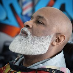 Blonde beard styles for black men