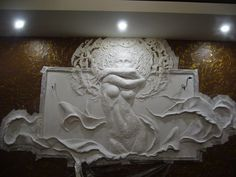 Барельеф в деталях.Учимся Создавать БАРЕЛЬЕФ Plaster Art, Plaster Walls, 3d Wall Art, Mural Art, Sculpture Clay, Wall Sculptures, Tile Art, Creative Decor, Decoration