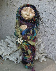 Spirit Art Dolls by Griselda on etsy. $135.