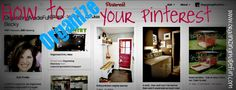 How to Organize Your Pinterest and other great tips!