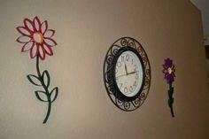 30 ideas de murales para pared hechos con rollos de papel higiénico 20