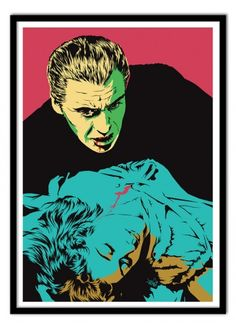Art-Poster Wall Editions : Dracula Tribute, by Vee Ladva. Format : 50 x 70 cm…