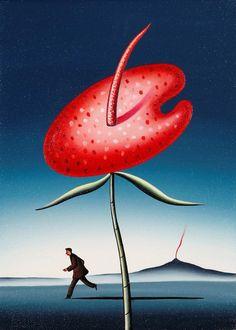Dimitris Yeros - Red Resurfacing, 2005, Acrylic on...