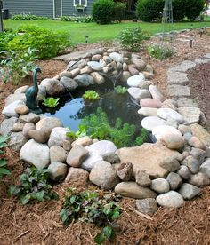 Summer 2011 Stepping Stones, Golf Courses, Landscaping, Outdoor Decor, Summer, Gardens, Backyard Ponds, Lawn And Garden, Stair Risers