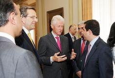 Επίσκεψη τ. Προέδρου ΗΠΑ, κ. Bill Clinton, στην Αθήνα (22/7/2012)