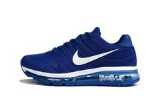 Nike Air Max 2017 Men Blue White KPU Shoes