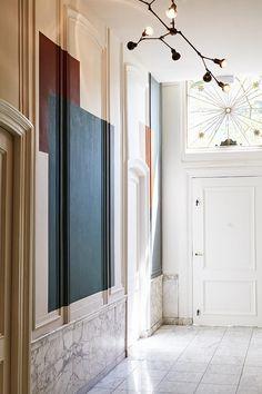 Argile-Peintures-Argile peinture pour l'hotel Hoxton