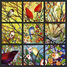 Title The Neverending Story Set 9a ArtistJennifer Lommers: if you like birds check out her art lovely and well priced