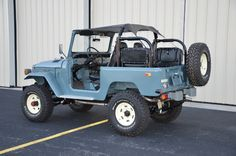 1978 Toyota Land Cruiser - I made the running boards on this FJ40