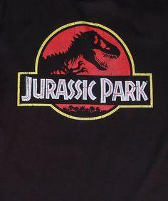 Classic Jurassic Park Logo T-Shirt logo