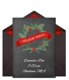 free winter woods invitations pinterest holiday party